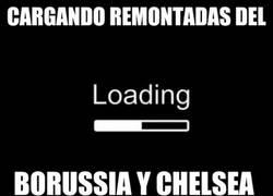 Enlace a Cargando remontadas del Borussia y del Chelsea