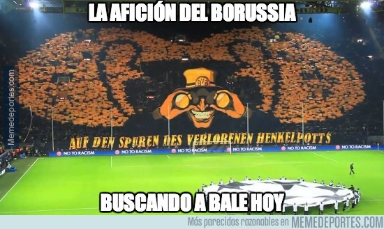 295276 - ¿Gareth Bale ha viajado a Dortmund?
