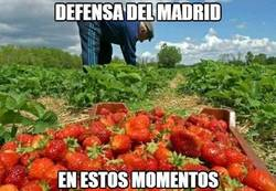 Enlace a Defensa del Madrid en estos momentos