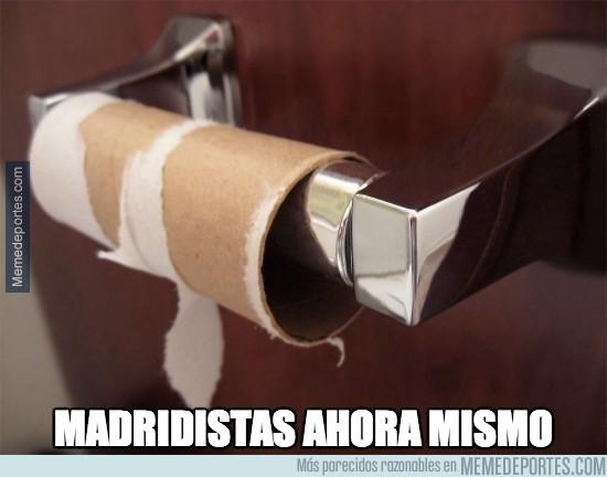 295374 - Así ha acabado la afición del Madrid. ¡Felicidades por el pase! ;)