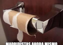 Enlace a Así ha acabado la afición del Madrid. ¡Felicidades por el pase! ;)
