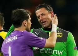 Enlace a Los porteros fueron clave en el Borussia - Madrid