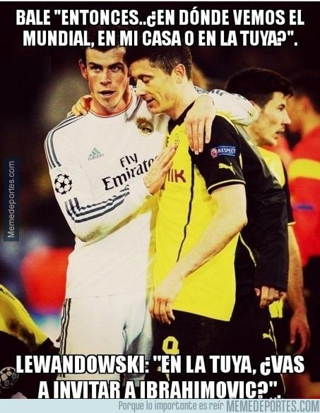 295655 - Bale y Lewandowski ya quedaron ayer para el Mundial