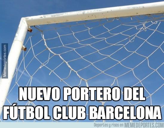 295961 - ¿Para qué quiere el Barça un nuevo portero?