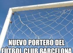 Enlace a ¿Para qué quiere el Barça un nuevo portero?