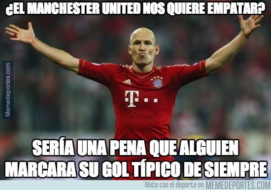 296076 - Robben termina de liquidar al Manchester United
