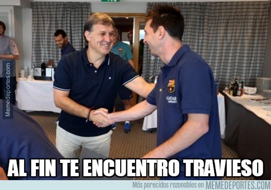 296128 - Por fin el Tata ha encontrado a Messi
