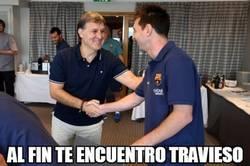 Enlace a Por fin el Tata ha encontrado a Messi