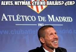 Enlace a Alves, Neymar, ¿Ya no bailáis? ¿Eh?