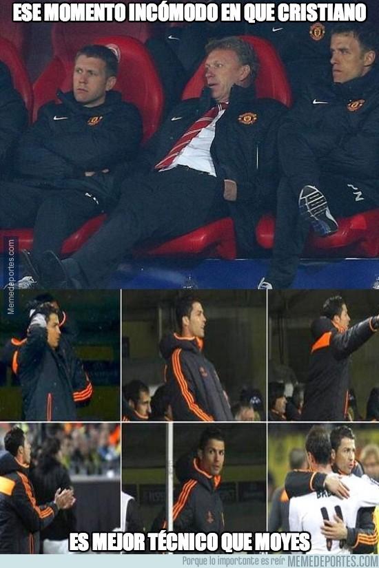 296541 - Cuando ves que Cristiano serviría más como entrenador que Moyes