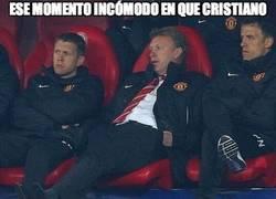 Enlace a Cuando ves que Cristiano serviría más como entrenador que Moyes
