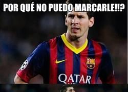 Enlace a Es por esto que Messi no le puede marcar a Courtois
