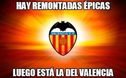 Enlace a Épica la remontada del Valencia