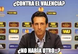 Enlace a Emery y el Valencia