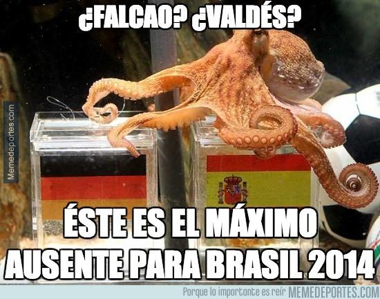 297641 - Éste es el máximo ausente para Brasil 2014