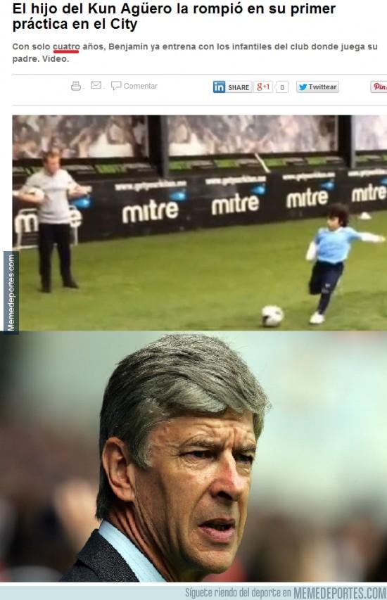 297726 - Wenger, prepara la cartera