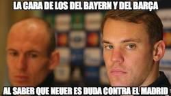 Enlace a Neuer puede ser una baja importante para el Bayern ante el Madrid