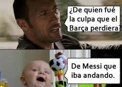 Enlace a ¿De quién fue la verdadera culpa de que el Barça perdiera?