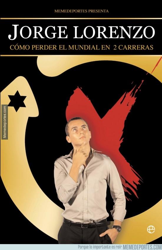 298618 - No te pierdas el nuevo libro de Jorge Lorenzo