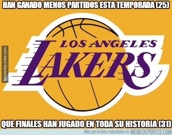 298869 - Un record inaudito de los Angeles Lakers. Y no por bueno que digamos