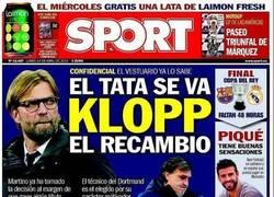 Enlace a Mientras tanto en la portada de Sport hoy
