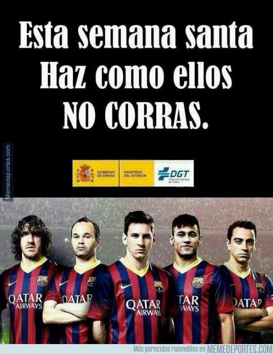 299110 - La nueva campaña de la DGT y el Barça