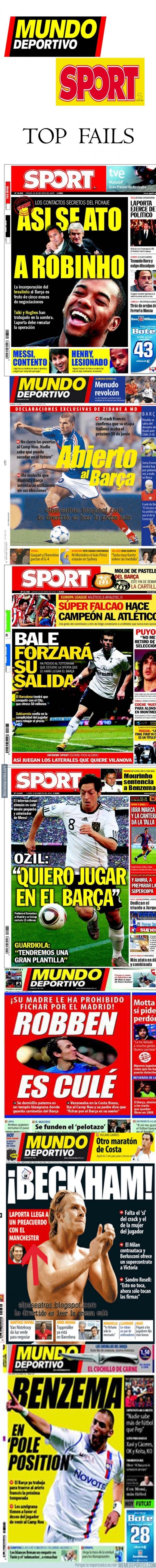 299553 - Top Fails de la prensa deportiva catalana (MD & Sport)