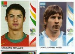 Enlace a Lo que hacen los años y el dinero. El cambio de aspecto de Cristiano y Messi