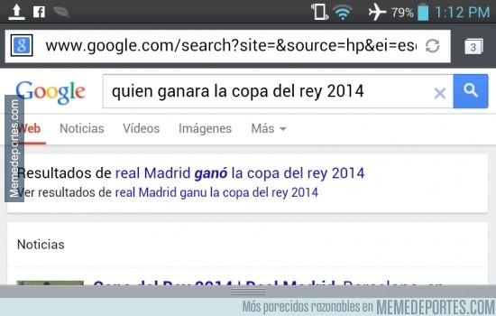 299904 - Google sabe quién ganará la Copa del Rey antes que nadie