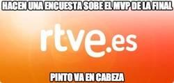 Enlace a Algo anda mal en el mundo del fútbol si Pinto es el MVP