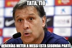 Enlace a El Tata debería meter a Messi en el campo esta segunda parte