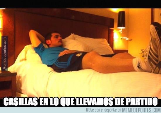 300008 - Así ha vivido Casillas el partido #FinalCopaDelRey