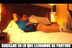 Enlace a Así ha vivido Casillas el partido #FinalCopaDelRey