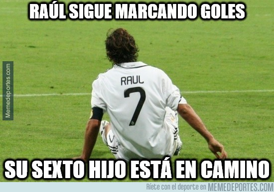 300358 - Raúl sigue marcando goles