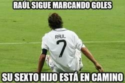 Enlace a Raúl sigue marcando goles