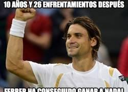 Enlace a Ferrer ha tardado 10 años en ganar a Nadal. Ahora ya puede retirarse