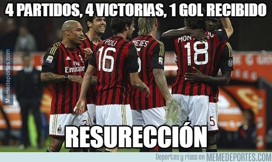 301711 - El Milan directo a puestos europeos