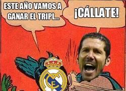 Enlace a ¿Simeone se cargará el triplete del Real Madrid?