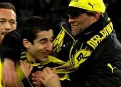 Enlace a GIF: Klopp a Mkhitaryan, 'ya podías haber jugado contra el Madrid como lo hiciste en copa'