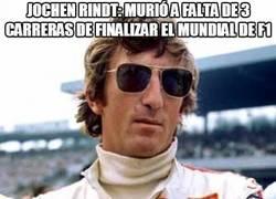 Enlace a Jochen Rindt iba muy sobrado