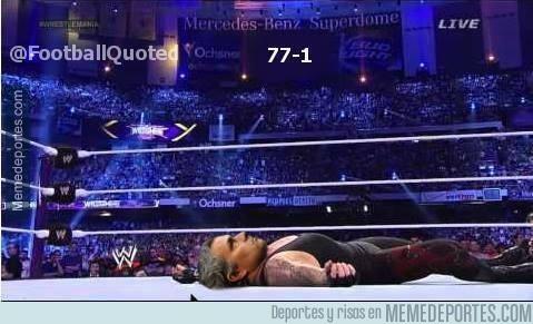 302213 - Y ya se había acabado la racha de Undertaker, ahora se va la de Mou