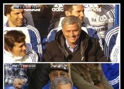 Enlace a ¿Por qué ya no sonríes, Mou? ¿Has visto el partido del Liverpool?
