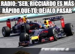 Enlace a Radio para Vettel
