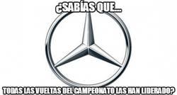 Enlace a El dominio de Mercedes este año es apabullante