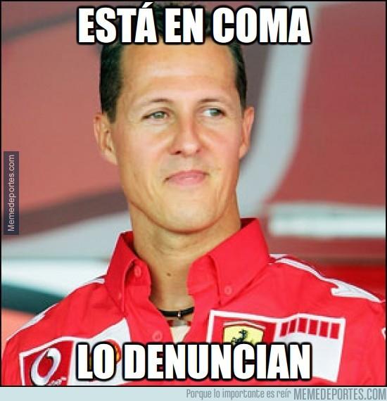302745 - Schumacher sigue en coma pero...