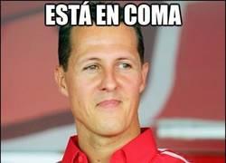 Enlace a Schumacher sigue en coma pero...