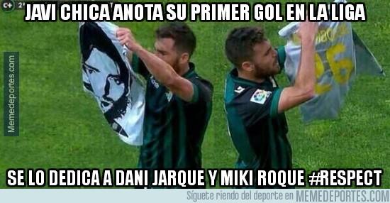 302809 - Javi Chica anota su primer gol en La Liga