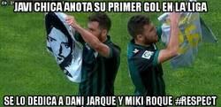 Enlace a Javi Chica anota su primer gol en La Liga