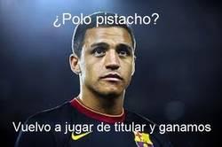 Enlace a Alexis Sánchez es la clave del Barça