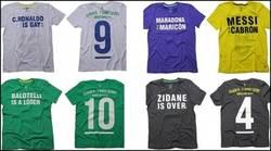 Enlace a En Brasil ya están listos para insultar a estos cracks con camisetas